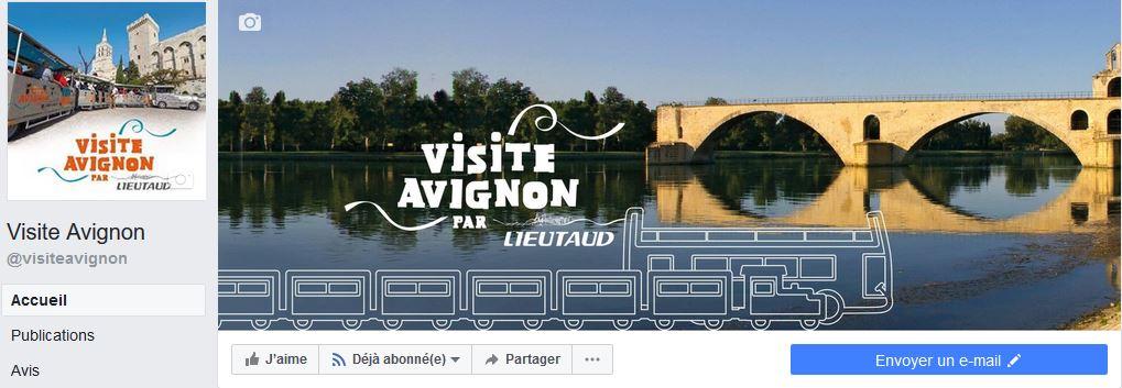 Visite Avignon est maintenant sur Facebook