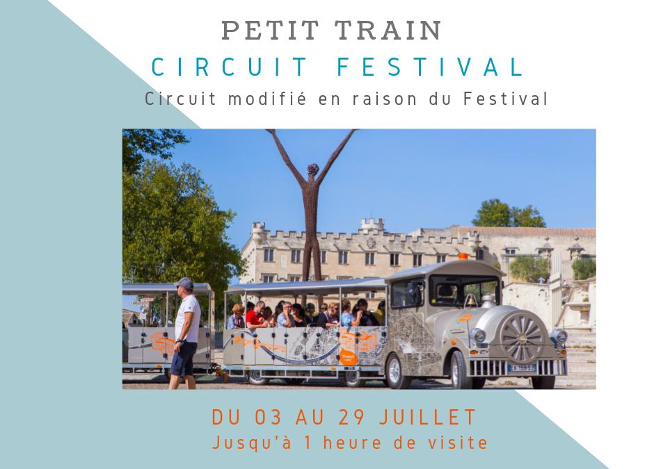 Circuit du Petit Train inédit jusqu'au 29 Juillet !